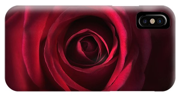 Close Up Red Roses Flowers Art Work Photography IPhone Case