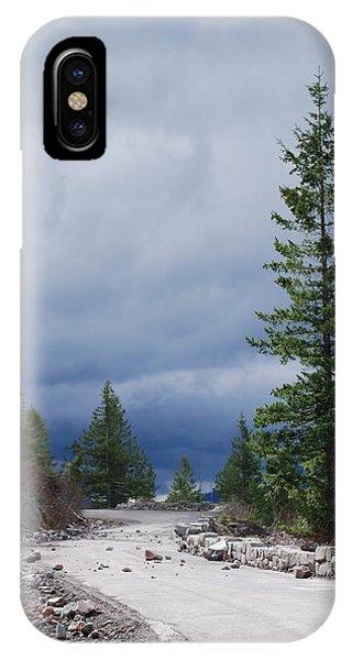 Closed Road IPhone Case