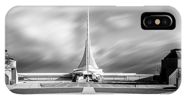 IPhone Case featuring the photograph Closed Sails by Steven Santamour