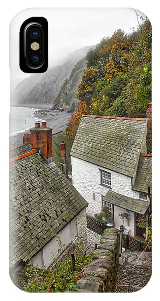Clovelly Coastline IPhone Case