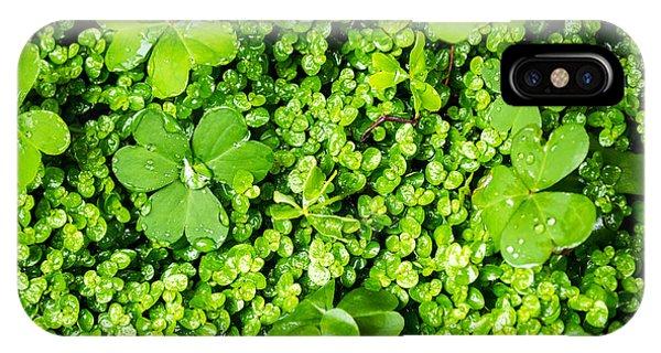 Lush Green Soothing Organic Sense IPhone Case