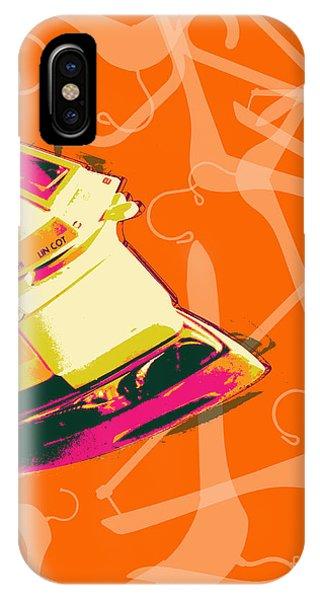 Clothes Iron Pop Art IPhone Case
