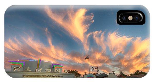 Cloud Angels IPhone Case