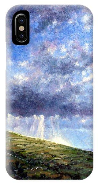 iPhone Case - Cloud Burst Ireland by Jim Gola