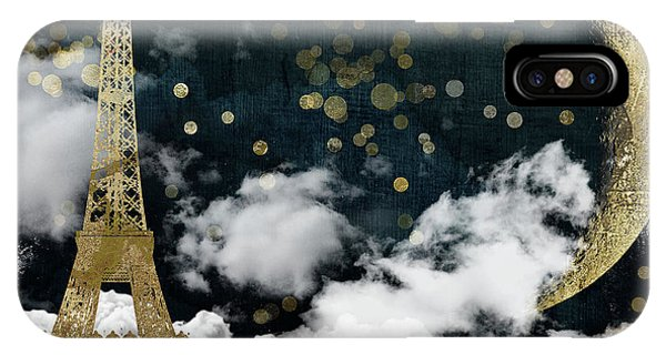 Cloud Cities Paris IPhone Case
