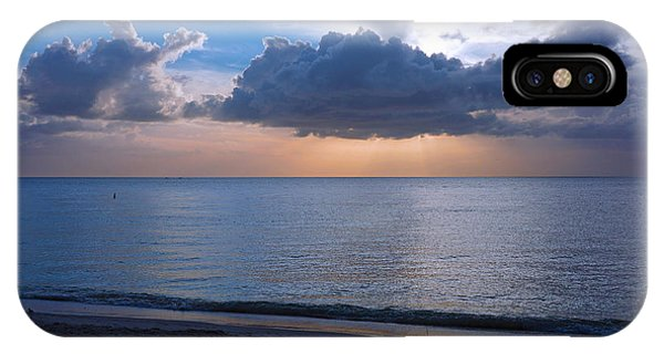 Cloud Creatures At Delnor Wiggins Pass State Park IPhone Case