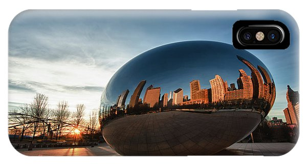 Cloud Gate At Sunrise IPhone Case