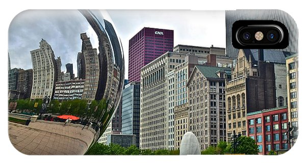 Bean Town iPhone Case - Cloud Gate by Frozen in Time Fine Art Photography