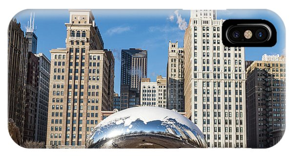 Cloud Gate To Chicago IPhone Case