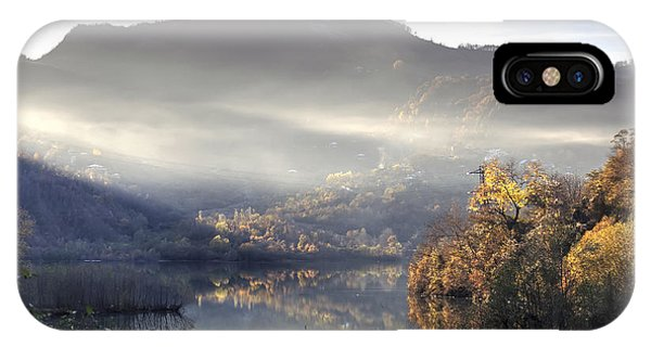 Mist In The Evening IPhone Case