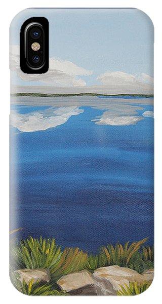 Cloud Lake IPhone Case
