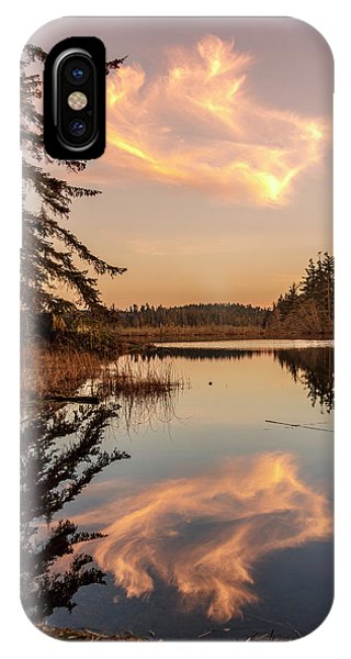 Cloud On Cranberry Lake IPhone Case