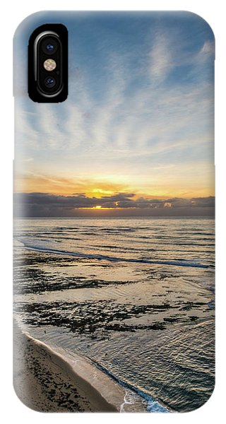 Cloud Rays Vertical IPhone Case