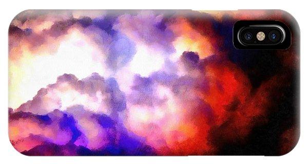 Cloud Sculpting 1 IPhone Case