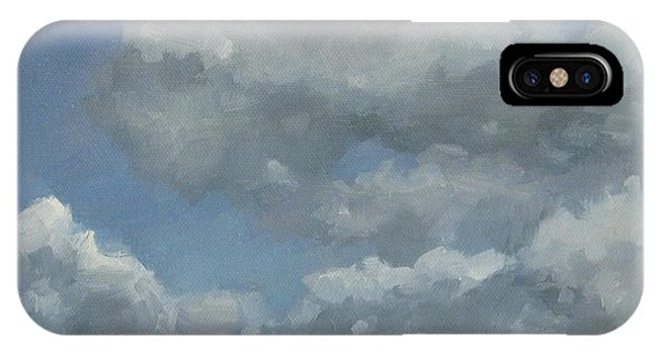 Cloud Study Series Three IPhone Case