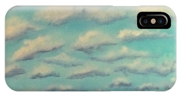 Cloud Study Cropped Image IPhone Case
