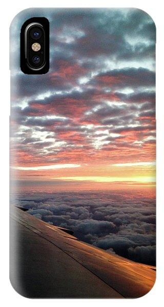 Cloud Sunrise IPhone Case