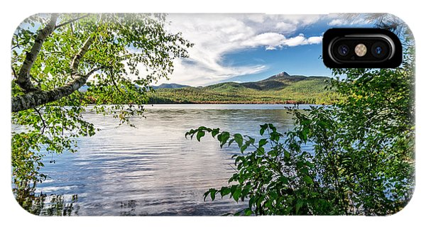 Cloud Swirl Mt. Chocorua Nh IPhone Case