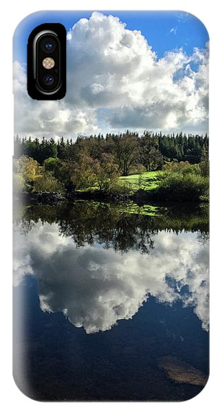 IPhone Case featuring the photograph Clouded Visions by Geoff Smith