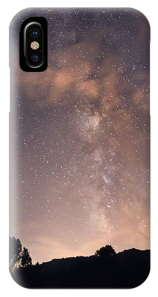 Clouds And Milky Way IPhone Case