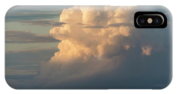 Clouds And Surf IPhone Case