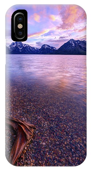 Teton iPhone Case - Clouds And Wind by Chad Dutson