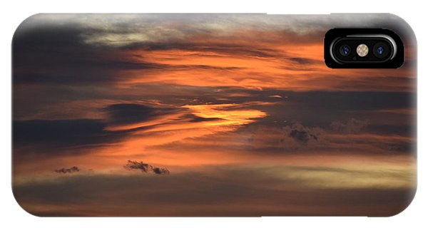 IPhone Case featuring the photograph Clouds At Dawn Over Ridge by Margarethe Binkley