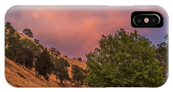 Clouds At Sunset Above Round Valley IPhone Case