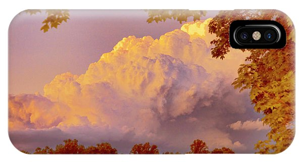 Clouds At Sunset, Southeastern Pennsylvania IPhone Case