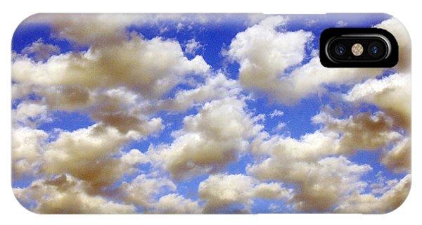 Clouds Blue Sky IPhone Case