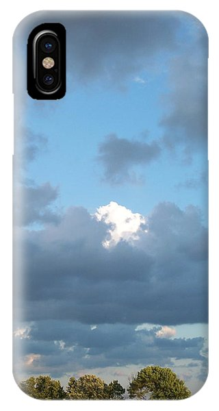 Clouds In A Bright Sky IPhone Case