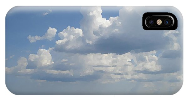 Clouds In August Phone Case by John  Bichler