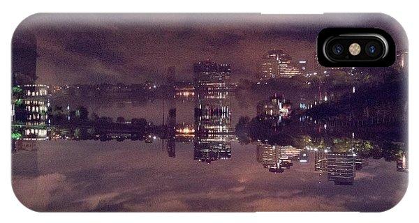 Clouds In The Passaic - Newark Nj IPhone Case