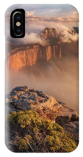 Clouds On Wotans Throne Phone Case by Adam Schallau