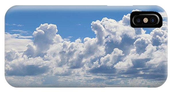 Clouds Over Catalina Island - Panorama IPhone Case