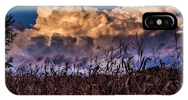 Clouds Over Fagagna IPhone Case