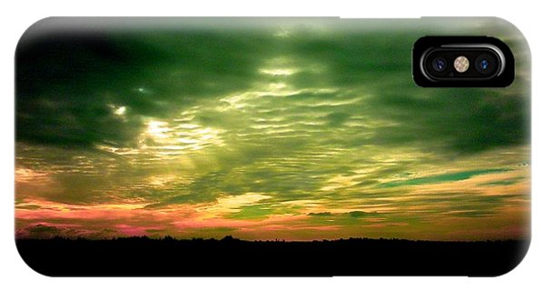 Clouds Over Ireland IPhone Case