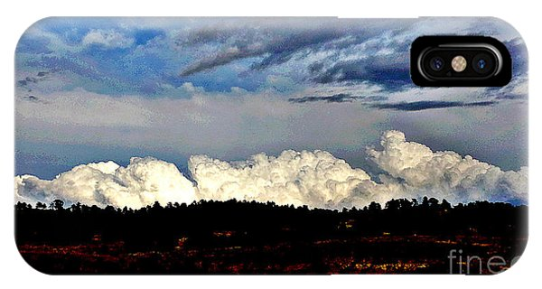 Clouds Over Pine Ridge IPhone Case