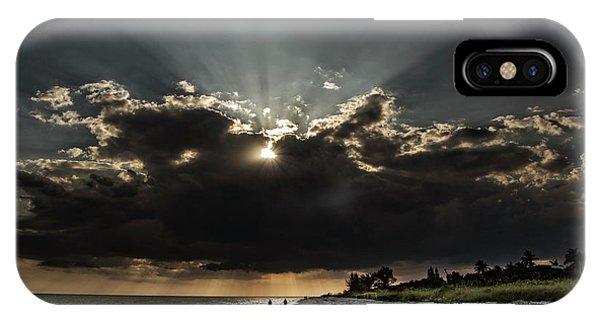 Clouds Over Sanibel Island Florida IPhone Case