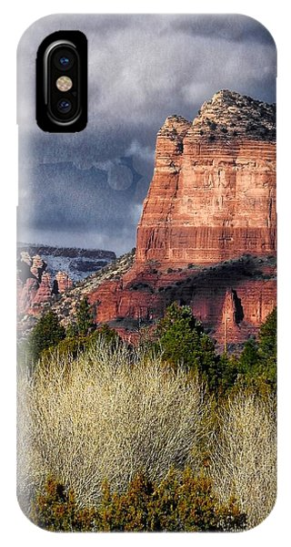 Clouds Over Sedona IPhone Case