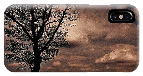 Clouds Over Shenandoah IPhone Case