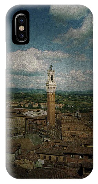 Clouds Over Siena IPhone Case