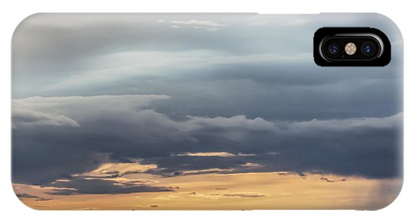 Clouds Over The Bottoms IPhone Case