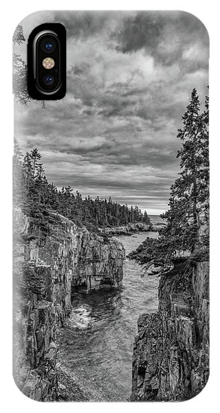 Clouds Over The Cliffs IPhone Case
