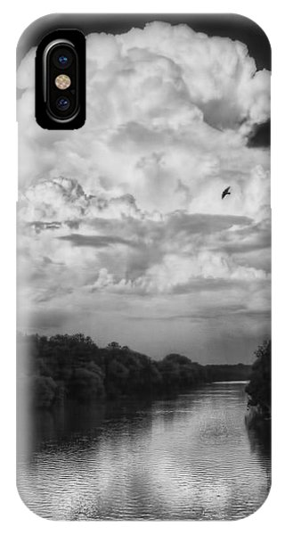 Clouds Over The Coosa River IPhone Case