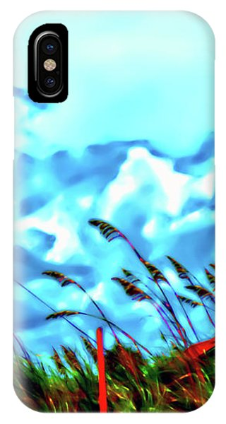 Clouds Over Vilano Beach IPhone Case