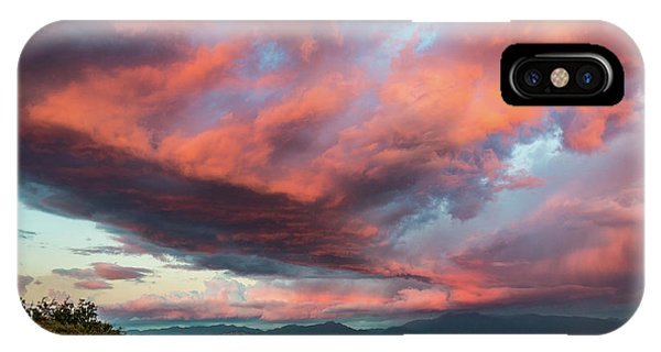 Clouds Over Warner Springs IPhone Case