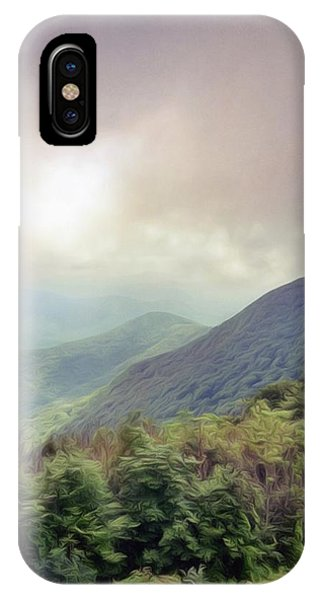 Clouds Upon Graybeard IPhone Case