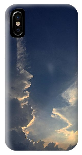 Cloudy Conversation IPhone Case