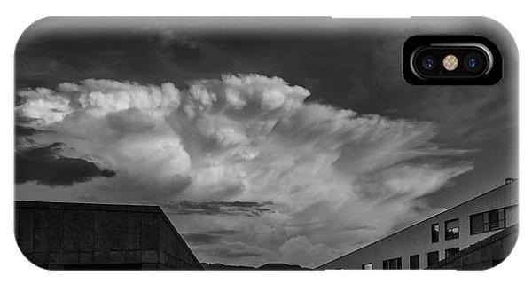Cloudy Sky Over Bolzano IPhone Case